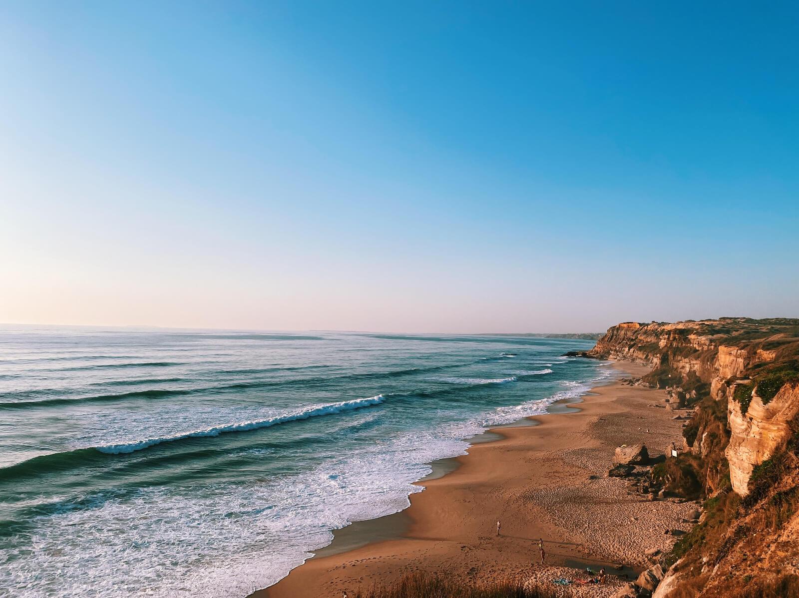 Santa Cruz Portugal coast
